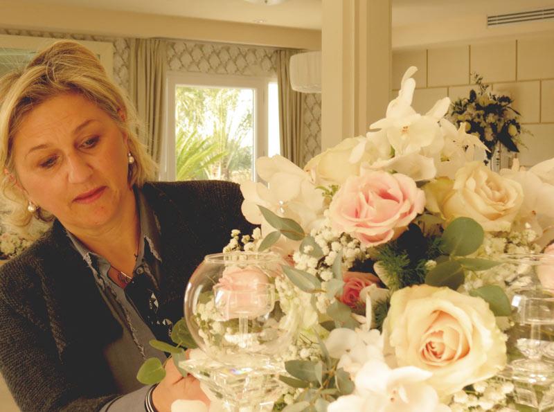 Allestimenti floreali per cene aziendali | Event & Flower design Daniela Mengarelli